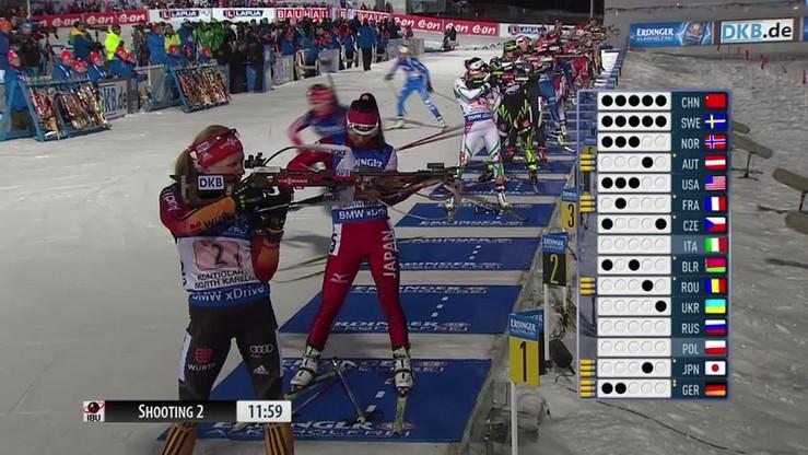 Polki bez medalu w rywalizacji sztafet