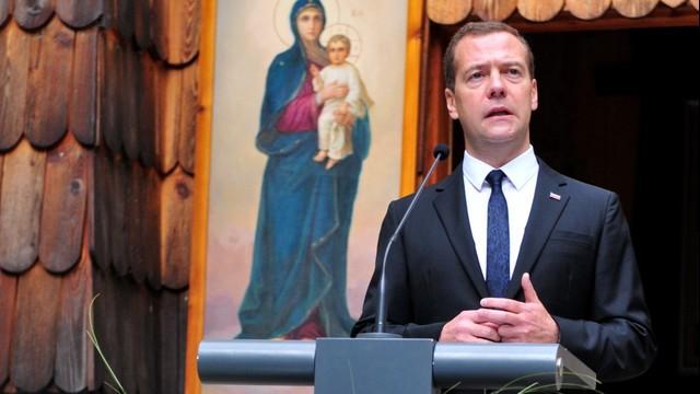 Miedwiediew rozpoczął dwudniową wizytę w Słowienii