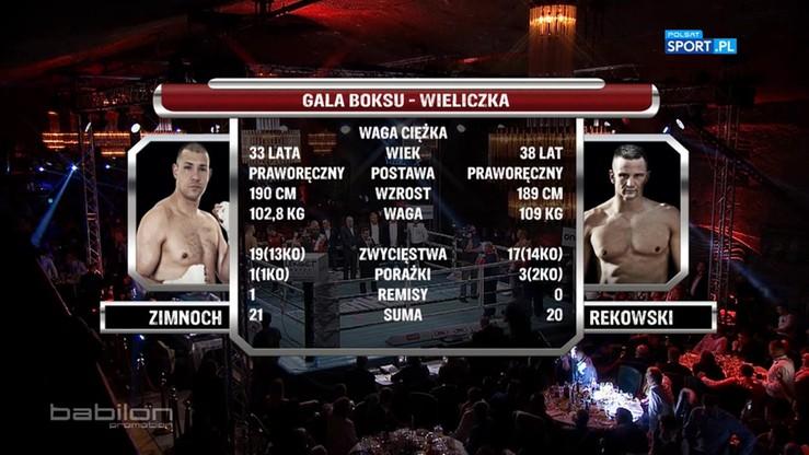 2016-10-23 Krzysztof Zimnoch - Marcin Rekowski. Skrót walki