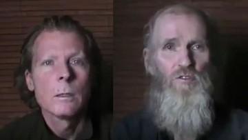 22-06-2017 08:18 Talibowie opublikowali wideo z porwanymi obcokrajowcami