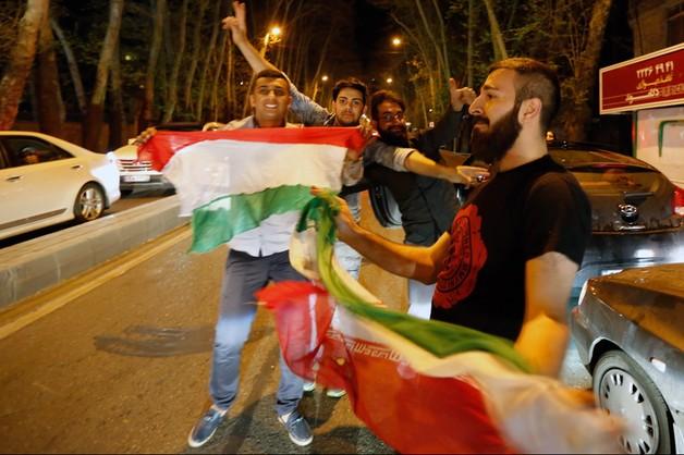 Irańczycy cieszą się z porozumień nuklearnych