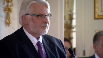 """""""Dostawy gazu mogą być użyte jako oręż polityczny przeciwko Polsce"""". Szef MSZ o stosunkach z Rosją"""