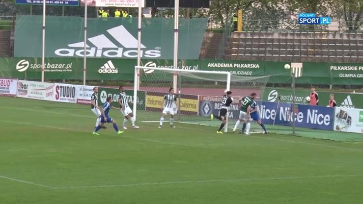 2017-05-08 Olimpia Grudziądz - Wigry Suwałki 0:0. Skrót meczu