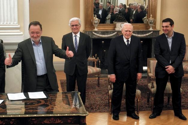 Grecja: rząd Ciprasa zaprzysiężony