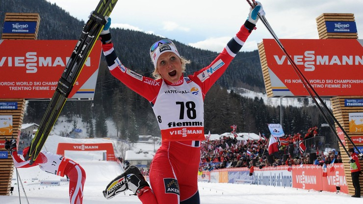 Johaug rozgrzewa się przed Tour de Ski