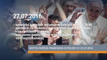 09-06-2016 12:06 Znamy program wizyty papieża. Jest kilka nowych punktów