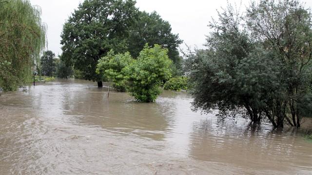 Śląskie: lokalne podtopienia po intensywnych opadach