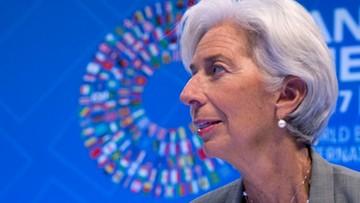 12-10-2017 23:24 Szefowa MFW ostrzega przed rosnącymi zagrożeniami dla światowej gospodarki