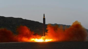 Kim Dzong Un obserwował test pocisku balistycznego z nowym systemem naprowadzania