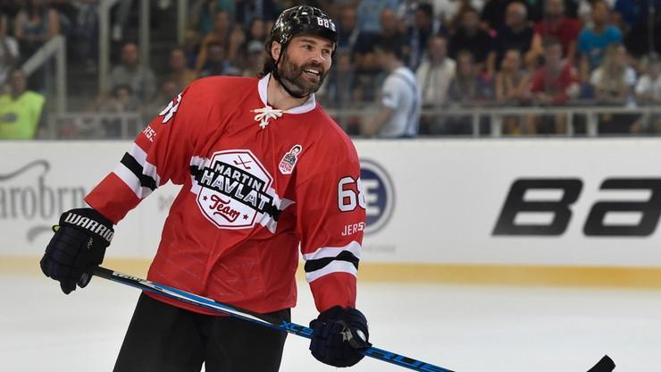 NHL: Jagr wraca jednak za ocean. Zagra w Calgary