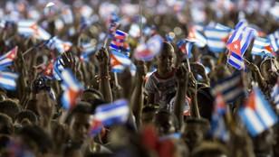 Dziesiątki tysięcy osób żegnało Fidela Castro