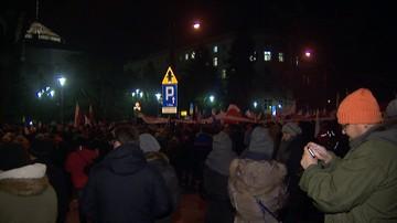 18-01-2017 11:13 Policja zidentyfikowała 80 osób protestujących przed Sejmem 16 grudnia