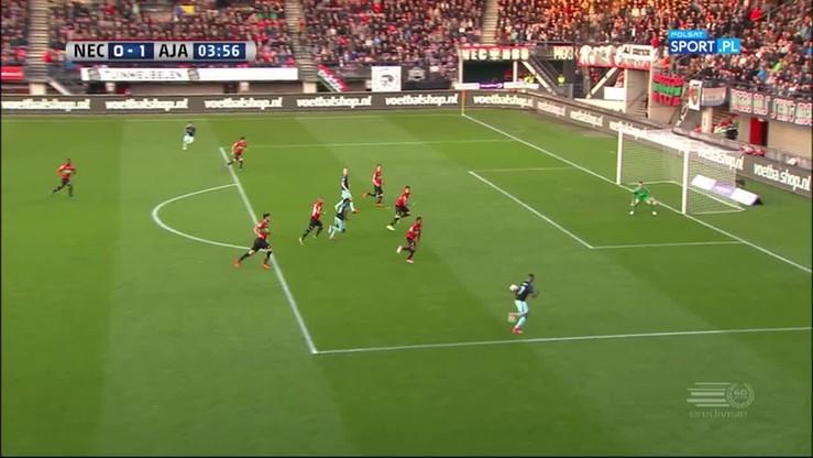 NEC Nijmegen - Ajax Amsterdam 1:5. Skrót meczu