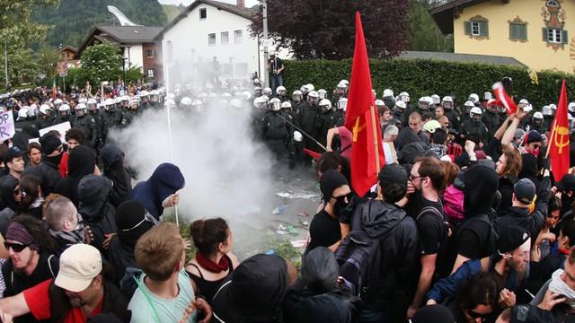 Niemcy: Tysiące przeciwników G7 demonstrują w Garmisch-Partenkirchen