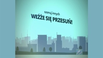 05-04-2016 14:30 Spoty o savoir-vivre w krakowskiej komunikacji miejskiej