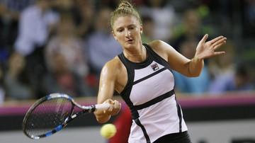 2017-07-22 WTA w Bukareszcie: Georges zagra z Begu w finale