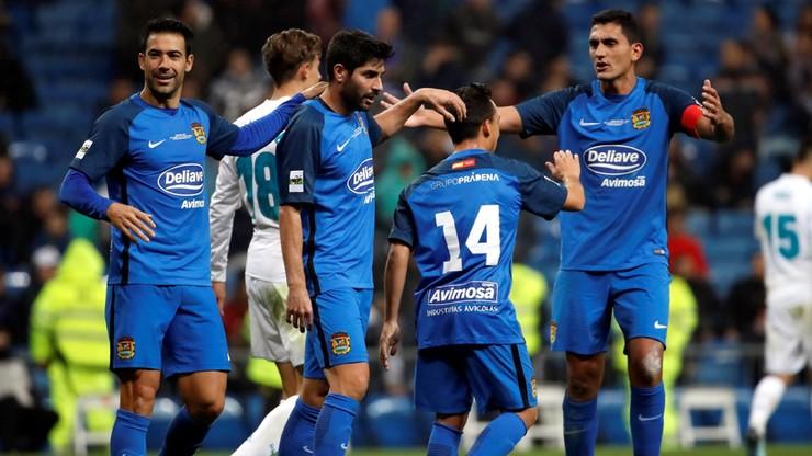 Trzecioligowiec postraszył Real Madryt w Pucharze Króla