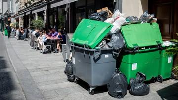 09-06-2016 18:49 Strajk śmieciarzy i kolejarzy we Francji. Na dzień przed Euro 2016