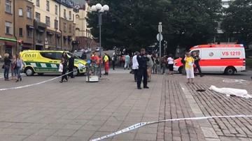 18-08-2017 15:59 Finlandia: kilka osób zaatakowanych nożem w centrum Turku. Dwie osoby nie żyją