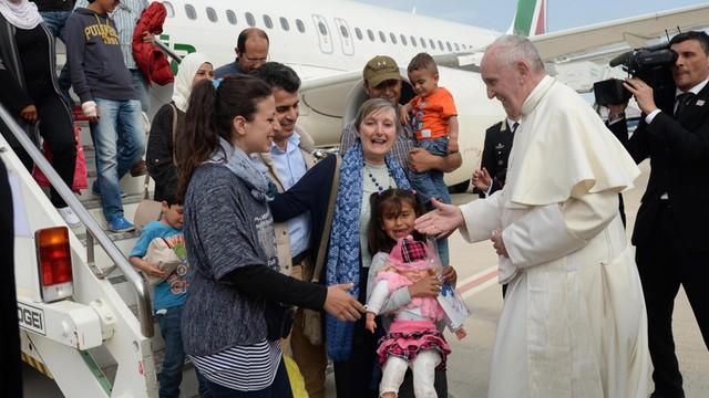 Papież: Rozumiem obawy przed migrantami, ale potrzebna jest integracja