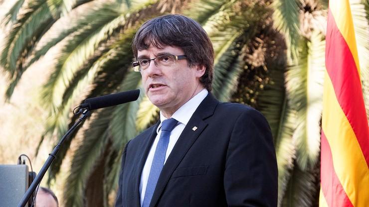 Puigdemont napisał do premiera Hiszpanii. Nie wyjaśnił, czy ogłosił niepodległość Katalonii