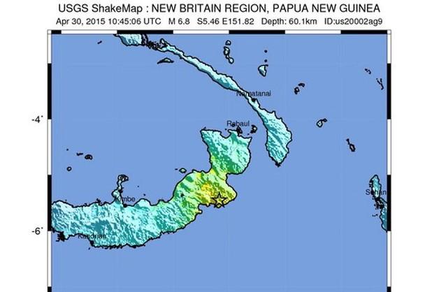 Papua-Nowa Gwinea: trzęsienie ziemi, brak zagrożenia tsunami