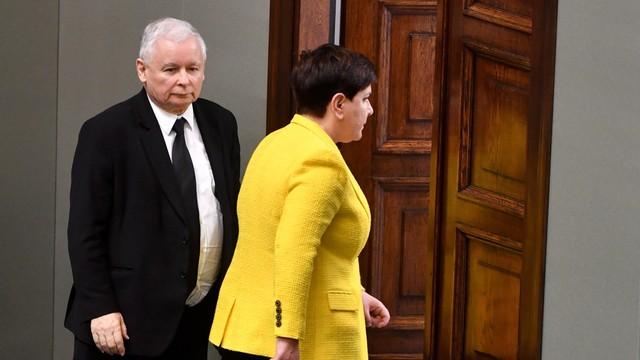 Premier Szydło spotkała się z prezesem PiS