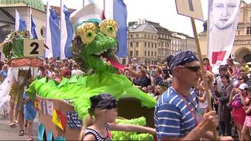 Wielka parada smoków przeszła ulicami Krakowa