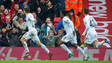 2017-01-21 Wielki mecz Swansea! Drużyna Fabiańskiego podbiła Anfield