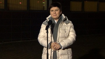 """2017-02-17 """"Mogę wrócić do domu"""". Beata Szydło opuszcza szpital"""