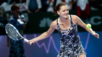 2016-10-28 WTA Finals: Radwańska i Pliskova zagrają o awans do półfinału