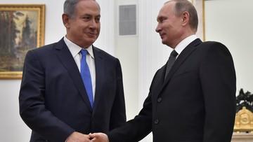 21-04-2016 19:37 Netanjahu w Moskwie: Izrael nigdy nie odda Wzgórz Golan