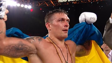 2016-12-18 Usyk obronił pas WBO! Ukrainiec nie dał szans Mchunu
