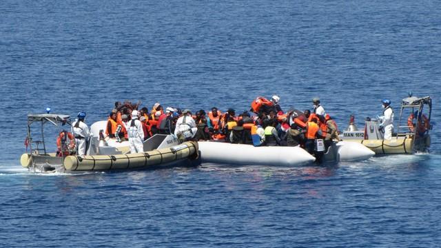 Norweski statek uratował ponad 600 uchodźców na Morzu Śródziemnym