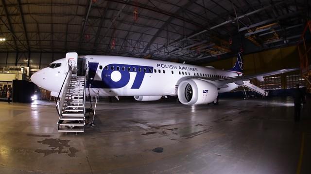 Supernowoczesne samoloty dla LOT. Pierwszy Boeing 737 MAX 8 już na Lotnisku Chopina