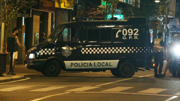 Hiszpania: furgonetka po brzegi wypełniona kokainą
