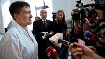 Sawczenko: NATO dotrzymuje słowa i wspiera Ukrainę