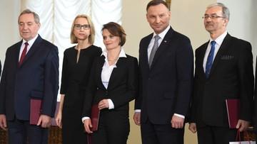 09-01-2018 12:59 Nowi ministrowie w rządzie Morawieckiego. Zobacz kim są