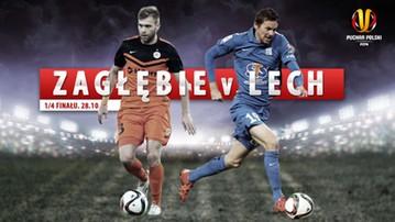 2015-10-28 Puchar Polski: Zagłębie Lubin - Lech Poznań. Transmisja w Polsacie Sport