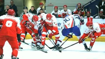 2017-04-15 Wielka Brytania - Polska 5:4 po karnych w towarzyskim meczu hokeja na lodzie