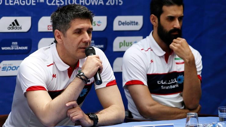 Trener Iranu: Tu wszyscy kochają siatkówkę