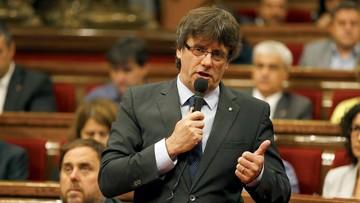 27-07-2016 20:40 Katalonia zmierza do niepodległości. Parlament przeciwstawia się Trybunałowi Konstytucyjnemu