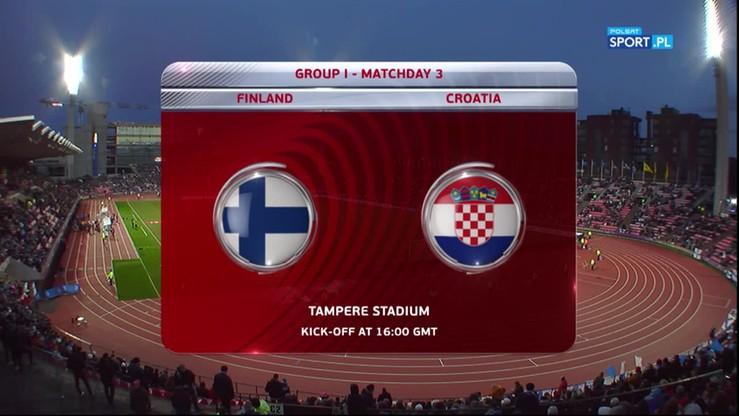 2016-10-09 Finlandia - Chorwacja 0:1. Skrót meczu