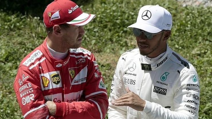 Formuła 1: Vettel i Hamilton najszybsi na treningach w Japonii