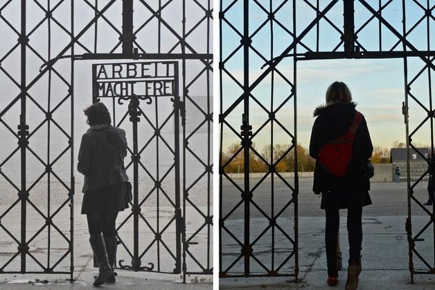 Skradziono fragment bramy w obozie koncentracyjnym Dachau