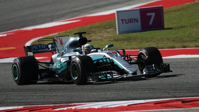 Formuła 1 - Lewis Hamilton wygrał Grand Prix USA w Austin