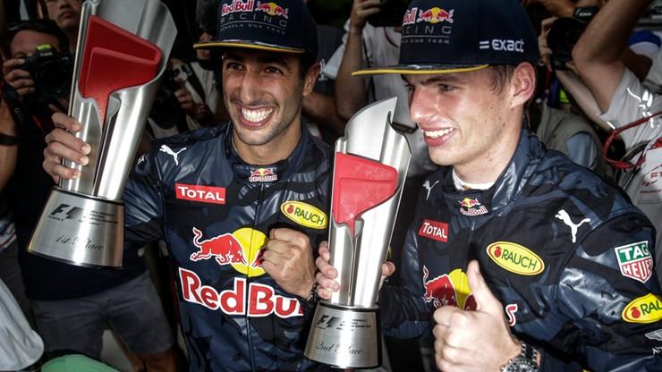 Hamilton zawiedziony, Ricciardo szczęśliwy po Grand Prix Malezji