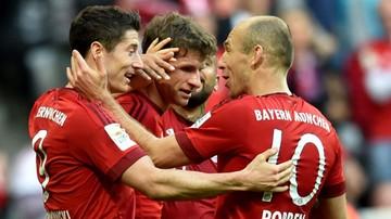2015-11-07 Bayern bez litości dla Tytonia. Gol Lewandowskiego