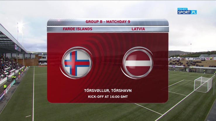 Wyspy Owcze - Łotwa 0:0. Skrót meczu