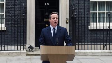 22-06-2016 10:50 Cameron: nie żałuję zarządzenia referendum w sprawie członkostwa w UE